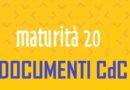 Documenti CdC classi quinte – A.S. 2019-2020