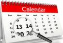 Calendario prima settimana di scuola